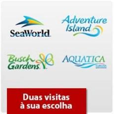 Seaworld Orlando - Dois parques à sua escolha + 1 Grátis - Acima de 3 anos (Ingresso Eletrônico)