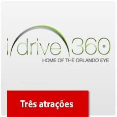 I-Drive 360: Madame Tussauds, SEA LIFE E The Coca Cola Orlando Eye